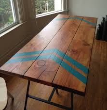 tables marvellous reclaimed wood parsons table console incredible