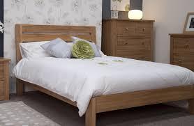 Solid Oak 6 Super King Size Bed