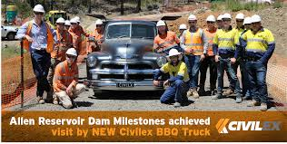 Civilex Allen Reservoir Dam Milestones Achieved, Visit By NEW ... Buckhorn Bbq Truck On Behance Food Truck Blue Coconut 410pm Dual Citizen Brewing Co Hoots 1940 Chevrolet Custom Built Youtube Recreational Services Wood Beechwood Grill Bad To The Bone Food Truck Finds Permanent Space In San Best Truckin Chicago Food Trucks Roaming Hunger China 2018 New Designed Trailersbbq For Nae Naes La Stainless Kings Guide Babz The Buffalo News Trucknamed Best Bbq Bama By News Agency Pollsdown Bonos