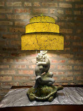 Rawhide Lamp Shades Ebay by Mid Century Lamp Shade Ebay