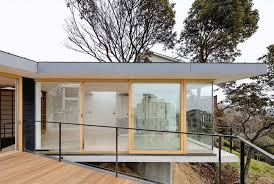 Steep Slope House Plans Pictures by Shogo Aratani Sets Kron House Within Rugged Terrain