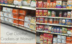 Find The Ingredients For Goldfish Crackers Marshmallow Bars At Walmart