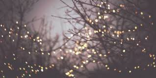 Christmas Lights Background – Tumblr – Happy Holidays