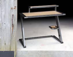 bureau metal et bois bureau style industriel en mtal et bois bureau style