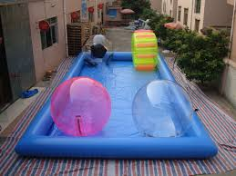Photo Of Inflatable Pool Slide