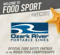 Ozark River Portable Hand Sink by Ozark River Joins Wfc For Food Safety Initiative World Food