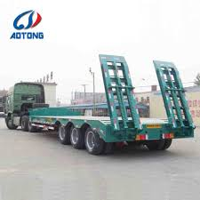 100 Length Of A Semi Truck China 23 Xles Over Cargo Flat Bed Extendable Trailer
