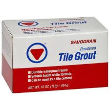 white tile grout mix 1 lb
