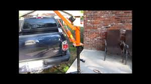 100 Harbor Freight Truck Crane Homemade Bumper Crane YouTube