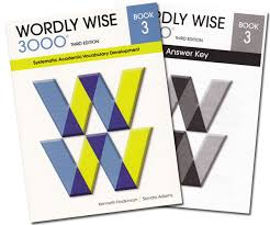 Wordly Wise 3000 Book 3 Teachers Key 3L100 O Note This Workbook Is Part