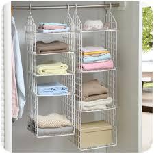Creative Home Closet Organizer Plastic Folding Storage Shelving