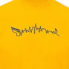 New York Silhouette Skyline TShirt City Collage 8 Farben S 5XL EBay