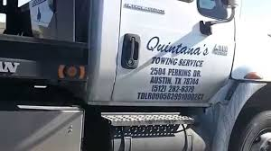Qunitana's Towing Service Caught Towing A Vehicle Without Safety ...