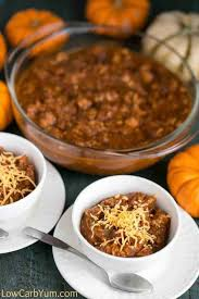 Paleo Pumpkin Chicken Chili by Turkey Pumpkin Chili In The Slow Cooker Low Carb Yum