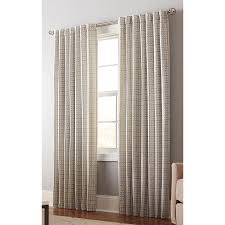 Light Filtering Privacy Curtains by Shop Allen Roth Nelliston 84 In Mineral Polyester Back Tab Light