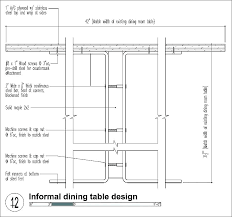 Standard Dining Room Table Dimensions Size Average Chair Dimen