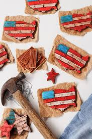 How To Make American Flag Cookies With Video Royal Icing CookiesDecorated Sugar