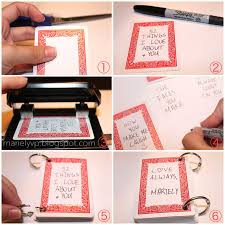 Red And White File Type Handmade Cards For Boyfriend Step By 4