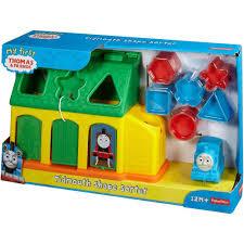 Thomas The Train Tidmouth Sheds Playset by My First Thomas U0026 Friends Tidmouth Shape Sorter Walmart Com
