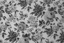 Vintage Flowers Tumblr Black And White