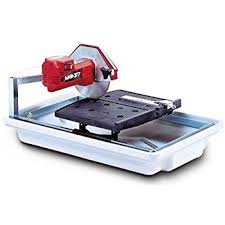 mk diamond 153330 mk 660 3 4 horsepower 7 inch wet tile saw
