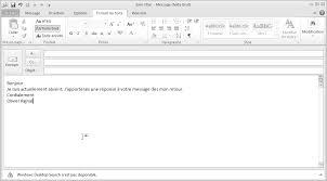 exemple message d absence du bureau 28 images email tools