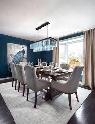 Blue Dining Room Decor