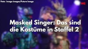 masked singer das waren die kostüme in staffel 2