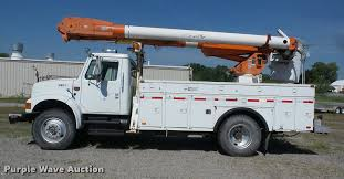 1993 International 4900 Bucket Truck | Item J8614 | SOLD! Ju...