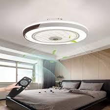 fan deckenleuchte kreative moderne deckenleuchte led dimmbar deckenventilator mit beleuchtung und fernbedienung leise kinderzimmer schlafzimmer