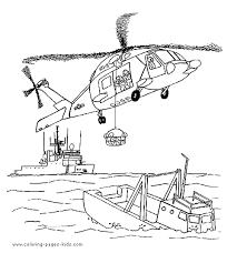 Pages Printable Coloring Color Helicopter For Kids Jpg