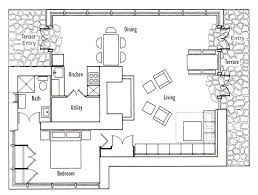 Images Cabin House Plans by Frank Lloyd Wright S Seth Peterson Cottage Floor Plan