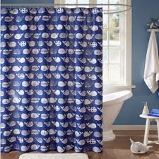 Bed Bath And Beyond Bathroom Curtain Rods by Buy Navy Shower Curtains From Bed Bath U0026 Beyond