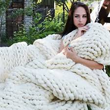 fastar strick kuscheldecke handgefertigt gestrickt decke für schlafzimmer wohnzimmer weiß 120cmx150cm