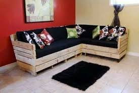 Pallet Corner Sofa How To Make A Out Of Wooden Pallets Livin