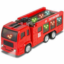 100 Fire Truck Sirens Best Choice Products Toy Flashing Lights Battery
