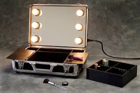 Portable professional makeup station or Portable professional