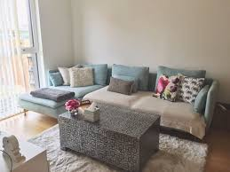 ikea soderhamn sofa light blue free cushions throws if req
