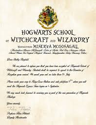 15 Hogwarts Acceptance Letter Text Contesting Wiki