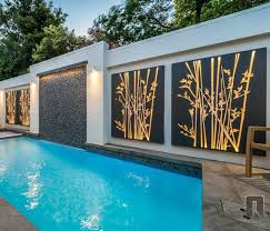 Outdoor Wall Art Screening And Panels Contemporary
