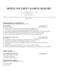 Resume Hotel Manager Sample For Jobs