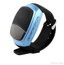 Sports Watch Voice Box is a Creative Outdoor Portable Phone with an LCD And Wireless Bluetooth Speaker Wireless Bluetooth Speaker Bluetooth Speaker Speake