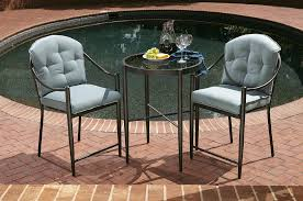 Kmart Jaclyn Smith Patio Furniture by Jaclyn Smith Chandler 3pc High Bistro Set