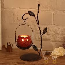 Handmade Owl candle holder