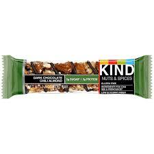 Dark Chocolate Chili Almond Bars