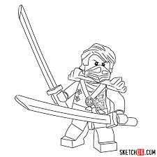 How To Draw Ninjago Lloyd Design Templates