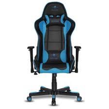 siege de jeux fauteuil spirit of gamer spitfire gaming noir et bleu accessoire