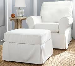 Marvellous Pottery Barn Glider And Ottoman 51 About Remodel Home