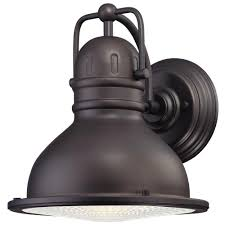 westinghouse orson rubbed bronze outdoor led wall lantern