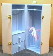 2 Drawer Doll Trunk